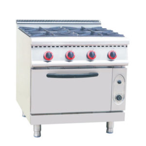 Restaurant Gas Stove Burner With Gas Oven(900 Series)