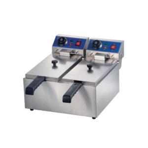 2 Tanks Electric Fryer 8+8Liters