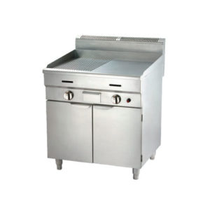 12mm GAS Griddle With Cabinet
