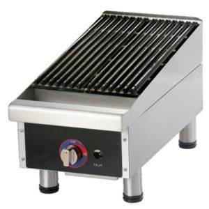 US Commercial Gas Lava Rock Grill