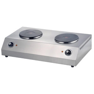 Commercial Electric Cooker With Double Burners