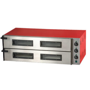 Double Deck Electric Pizza Heater