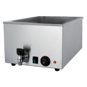 Commercial Counter Top Bain Marie With Tap