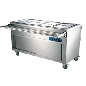 Food Service Cart With Wheels